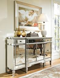 amusing mirrored buffet console table 42 in black parsons console