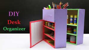 Organizer Desk How To Make A Diy Desk Organizer
