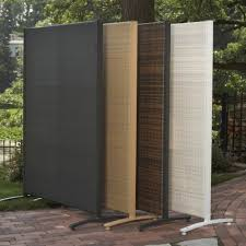 privacy room dividers resin outdoor privacy screen panels the urban backyard