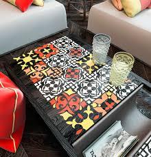 Floor Decore Furniture Decor Tile Stencil Accent Wall Tile Stencil Furniture