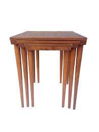 conant ball coffee table mid century modern conant ball nesting tables barefoot dwelling