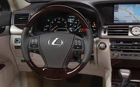 lexus is300 steering wheel 2013 lexus ls first look automobile magazine