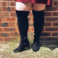 s boots for large calves in australia plus size boohoo knee high boots that actually fit a wide calf