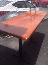 Cafe Tables For Sale by Used Restaurant Tables Ebay