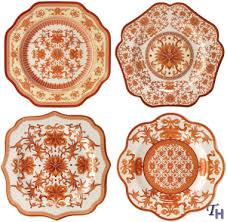 indian accent plates by spode