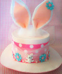easter bunny hat paper mache easter bunny ears top hat box basket just some flickr