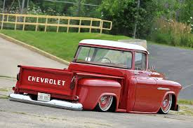 Classic Chevy Custom Trucks - 1955 chevy 3100 big red