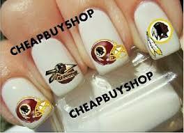 flash sale nfl washington redskins football logos tattoo nail