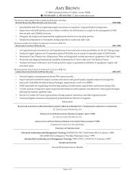 Sample Senior Management Resume Supply Chain Executive Resume Sample U2013 Job Resume Samples Within