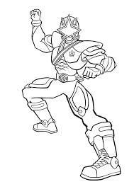 gold ranger coloring pages cartoon images character