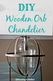 Orb Chandelier Diy Diy Wooden Orb Chandelier Orb Chandelier Frugal And Super Easy