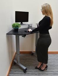 Standing Corner Desk 60 Standing Corner Desk Collaboration Boards