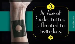 10 cool ace of spades tattoo designs with meanings