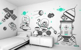 kids bedroom wall decor for children39s bedding sets double fun and creative wall decals for kids chinese furniture design lighting for closets small