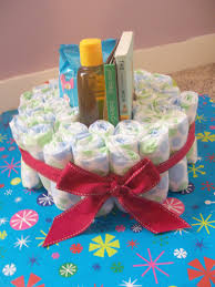 photo a baby shower diaper cake image