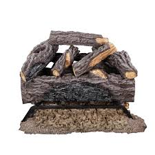 pleasant hearth 20 in electric crackling log set l 20wg the