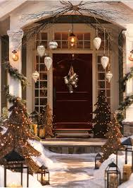 Best Outdoor Christmas Decorations by Front Doors Inspirations Front Door Holiday Decorating Idea 4