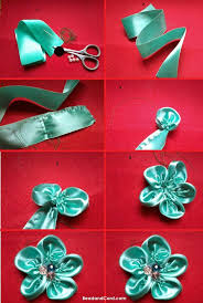 3824 best kanzashi images on pinterest fabric flowers ribbon