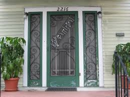 large double doors for front home with decorative patterned