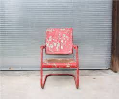 Old Fashioned Metal Outdoor Chairs by Decorate Vintage Metal Patio Chairs All Home Decorations