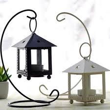 metal tea light holders free shipping iron tea light holder house shape metal candle holder