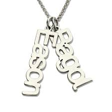 sterling silver name necklaces aliexpress buy necklace name necklace