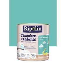 peinture chambre bleu turquoise peinture bleu turquoise satin ripolin chambre enfants 0 5 l leroy