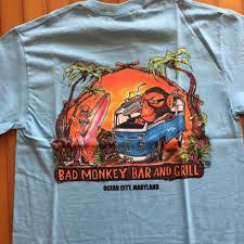 Bad Monkey Bad Monkey Surf Van Short Sleeve T Shirt U2013 Bad Monkey Oc