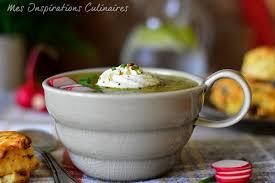 cuisiner des fanes de radis soupe fanes de radis recette saine le cuisine de samar