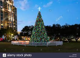 christmas ornament display at north straub park st petersburg