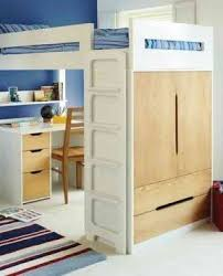 Bunk Bed With Desk And Stairs Loft Bunk Beds With Desk And Drawers Foter