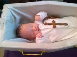 baby caskets johnny casket vaccines post mortem memento mori