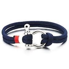 anchor wrap bracelet images Coolsteelandbeyond mens womens steel screw anchor shackles jpg