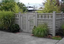 view from federal twist garden diary color ideas for fencing
