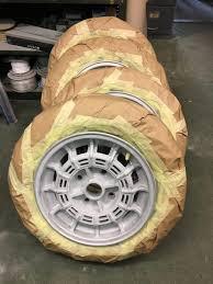 maserati merak co refurbishing the maserati merak wheels again bridge classic cars