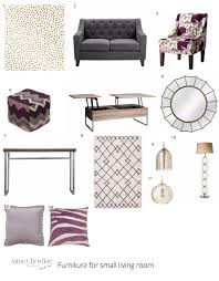 how to design furniture how to design a chic and affordable small living room