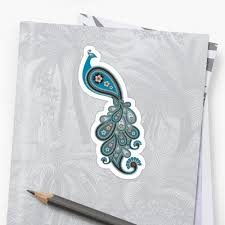 paisley peacock 1