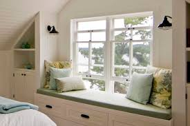 Bedroom Seat Bedroom Window Seat Cool With Image Of Bedroom Window Concept New