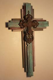 rustic crosses rustic barbed wire cross large by thecowboyscloset on etsy metal