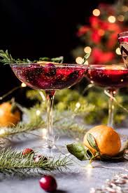 christmas champagne cocktails poinsettia spritz punch recipe poinsettia cranberry cocktail