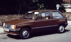 vintage opel car 1983 vauxhall nova 3 door hatchback automóviles clásicos y