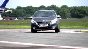 peugeot home peugeot 208 gti track event dunsfold park the home of top