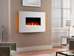 endeavour fires egton white wall mounted electric fire white
