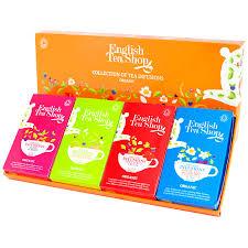 tea shop organic infusions tea collection 60 bags