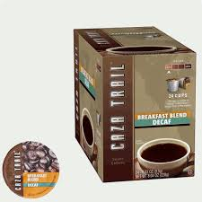 Blend K Cups Caza Trail Decaf Breakfast Blend Coffee Single Serve Cups K