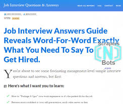 job interview questions answers bob firestone website job