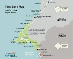 Timezone Map Usa by Everyday Information A Z U003c Explore Nayarit