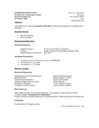 Resume Examples For Highschool Graduates by Resume Sample Resume Of Administrative Assistant Job Guide