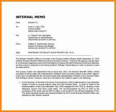 audit memo company audit memo template download sample example