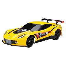 yellow corvette bright 1 12 function r c chargers corvette c7r yellow
